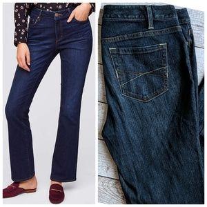 LOFT Curvy Bootcut Jeans sz 10 like new